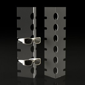 Plexiglass Σταντ Πάγκου για Οπτικά