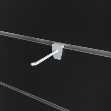 Πλαστικό Άγκιστρο Λευκό 10cm