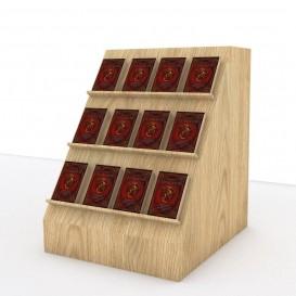 Κεκλιμένο Εκθετήριο Βιβλίων για τη Βιτρίνα