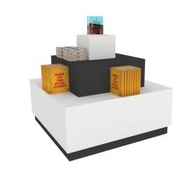 Κεντρικό Εκθετήριο Προϊόντων με 3 Επίπεδα Προβολής