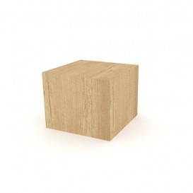 Ξύλινος Κύβος Κλειστός για Προβολή Προϊόντων