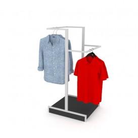 bef37215346 Quick View Προσθήκη στα Αγαπημένα · Stand Ρούχων με 2 Μπάρες Κρέμασης