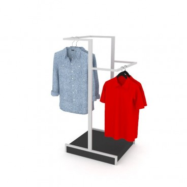 Stand Ρούχων με 2 Μπάρες Κρέμασης