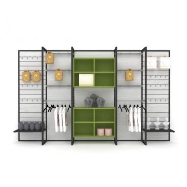 Μονάδα Τοίχου για Προβολή Προϊόντων σε Ράφια και Γάντζους