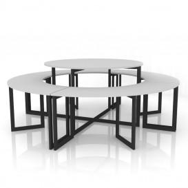 Μεταλλικά Τραπέζια Ειδών Μόδας