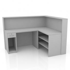 Γωνιακό Γραφείο - Ταμείο Μαγαζιού