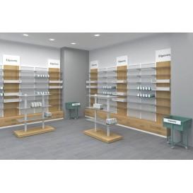 Εφαρμογή Επίπλωσης Φαρμακείου με τη Σειρά ECO