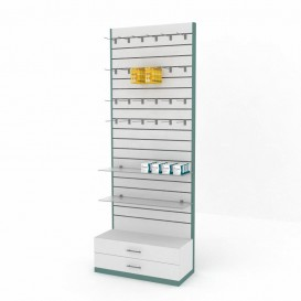 Μονάδα Επίπλωσης Τοίχου Φαρμακείου με SLAT