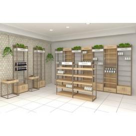 Κατασκευή Επίπλωσης Φαρμακείου - Σειρά EARTH