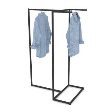 Μεταλλικό Stand Ρούχων με Τριπλή Κρέμαση