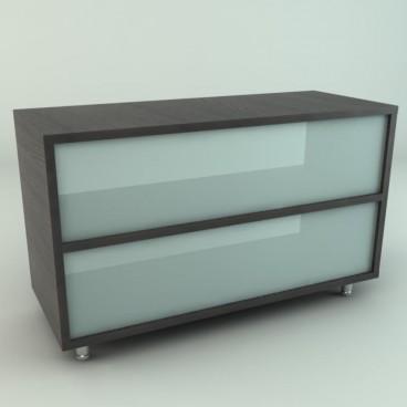 Πάγκος με Plexiglass Ημιδιάφανο