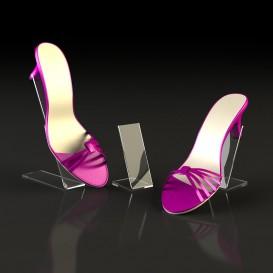 Plexiglass Στήριγμα για Παπούτσι