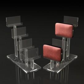 Stand Plexiglass για Πορτοφόλια Πολλαπλών Θέσεων