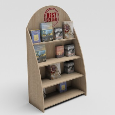 Stand Δαπέδου για Βιβλία