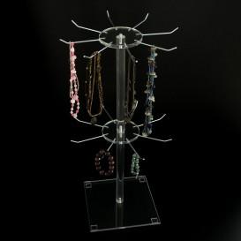 Stand Πάγκου Plexiglass Διπλό