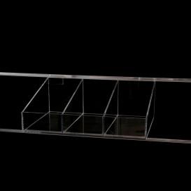 Καλάθι Plexiglass Τριών Θέσεων