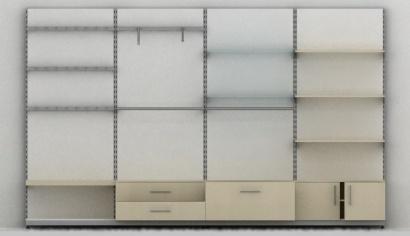 μοναδες τοιχου με διατρητα σιδερα για μαγαζι 1