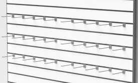 συστημα πανελ σλατ για τοιχο μαγαζιου