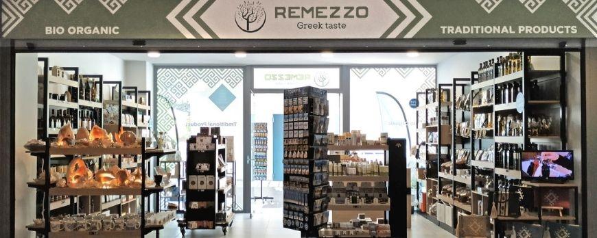 Επίπλωση Καταστήματος Delicatessen Remezzo Taste στον Πειραιά