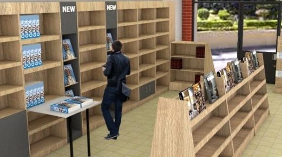 Επίπλωση Βιβλιοπωλείου - Ανάλυση
